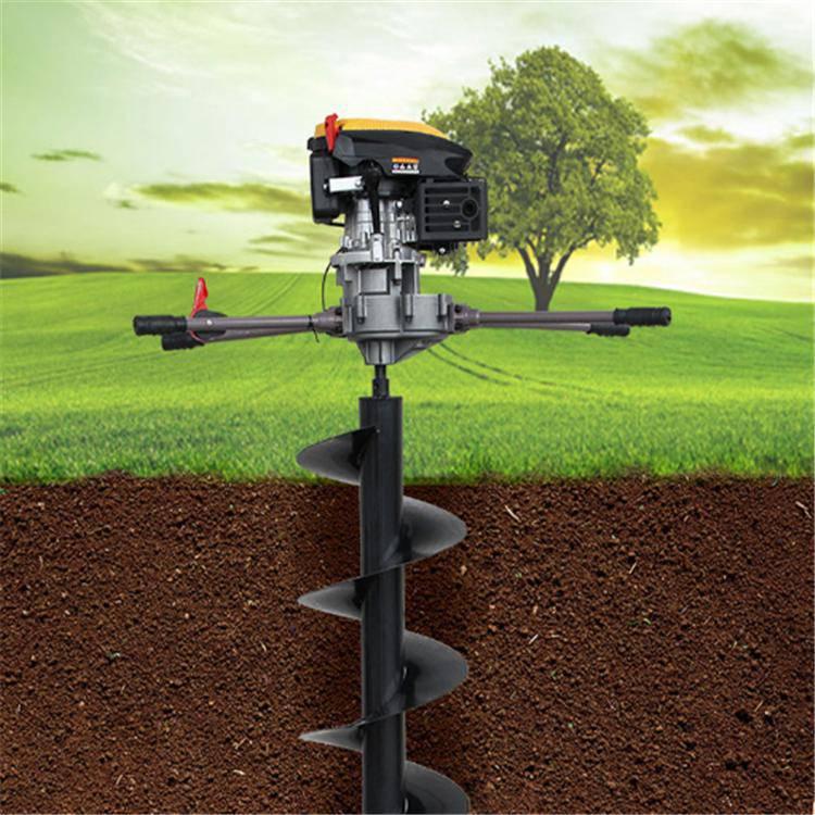 锰钢螺旋挖坑机 埋桩立柱打眼机 农用施肥挖坑机