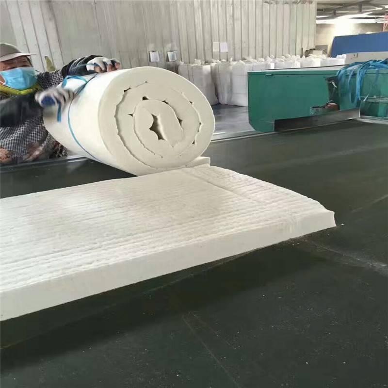 规格型号硅酸铝甩丝板 10公分硅酸铝保温毯