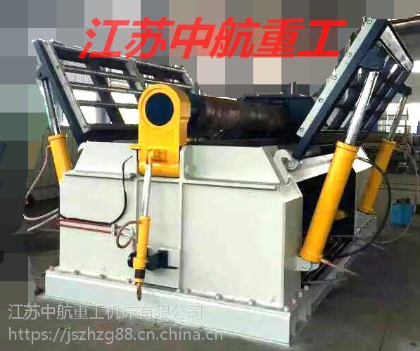中航重工半自动式空心卷板机 三辊卷板机