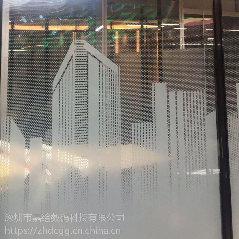 深圳UV喷绘 白墨uv打印超透贴 超透玻璃贴 PET玻璃彩白彩加工