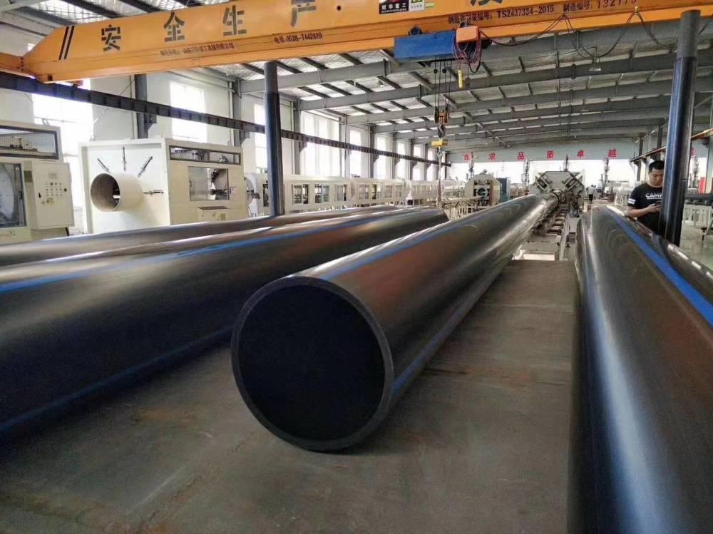 pe给水管 郑州HDPE给水管厂家 18年生产销售经验 质量包检测,价格一步到位