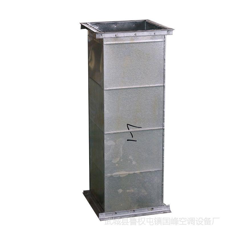 地下车库排烟 楼层通风专用共板法兰 角铁镀锌风管 专注生产15年