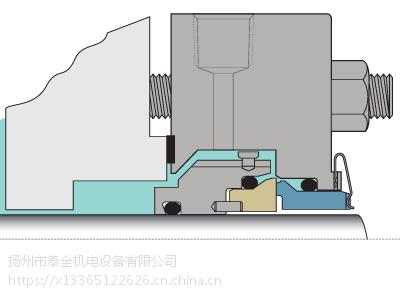 美国进口Chesterton/赤士盾 442PR 剖分式带泵送环机械密封