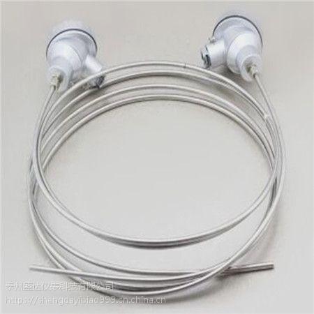 盛达仪表供应产品K型铠装易弯曲防震热电偶