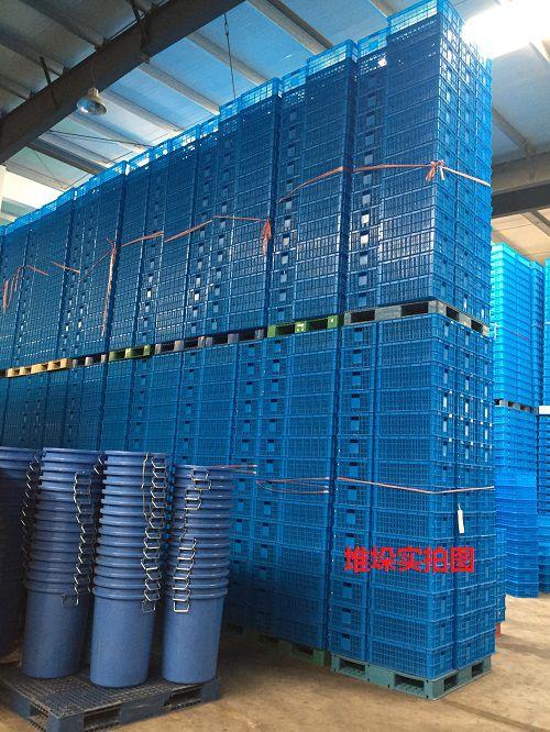 工厂实体物流箱塑料箱等实物拍摄视频