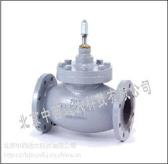 中西(LQS)二通电动法兰调节阀 型号:SY62-V5088A1005 库号:M350110