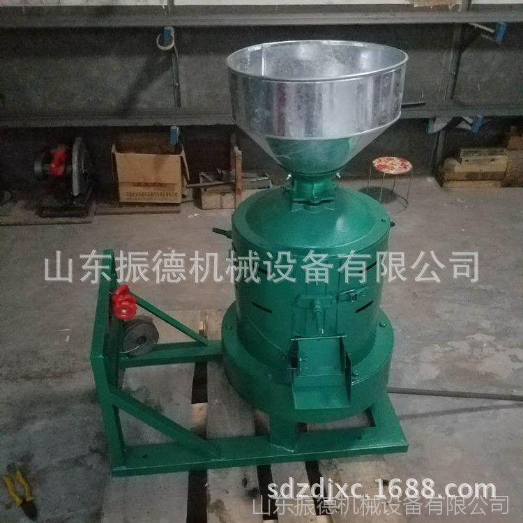 电动谷子碾米机 稻谷加工脱壳机 振德牌 砂棍碾米机