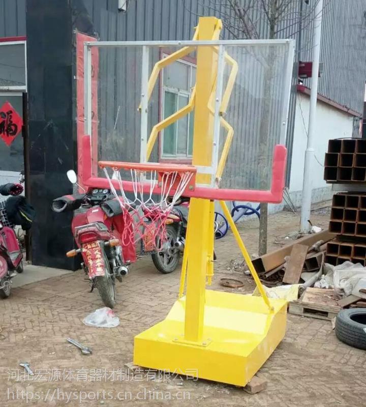 宏源箱式儿童升降篮球架小篮球架厂家直销