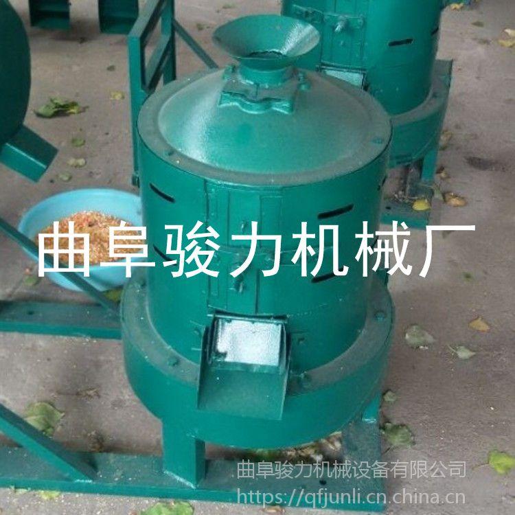 骏力牌 优质水稻脱壳机 杂粮玉米脱皮制糁机 立式小型碾米机 报价