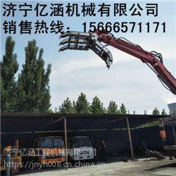 亿涵机械现货供应多功能固定式抓钢机 360度旋转固定式抓钢机