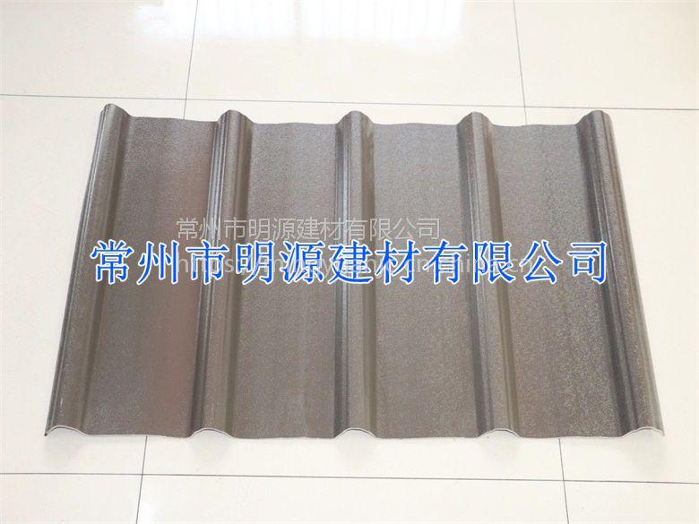 江苏盐城防腐塑钢瓦 无锡树脂瓦 南京PVC瓦厂家