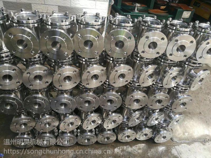 明昊机械碳钢直通视镜Q235管道视镜十字直通视镜厂家直销