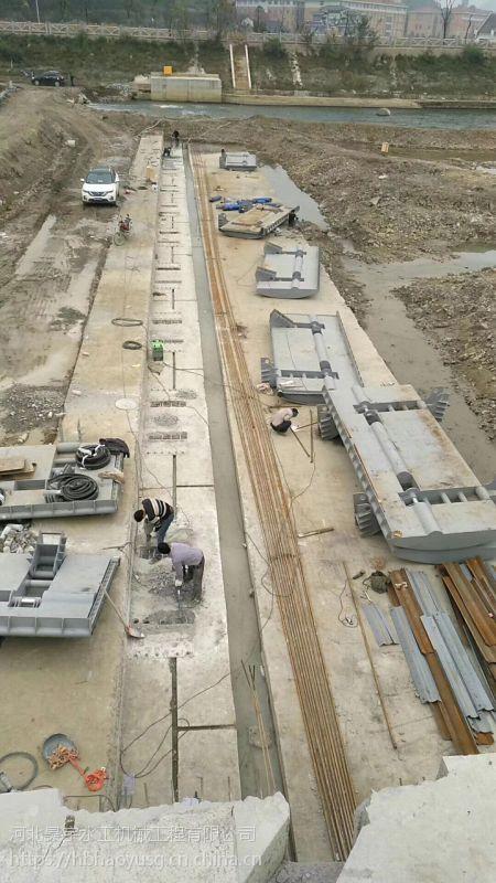 河北昊宇水工行洪过水液压升降坝厂家销售