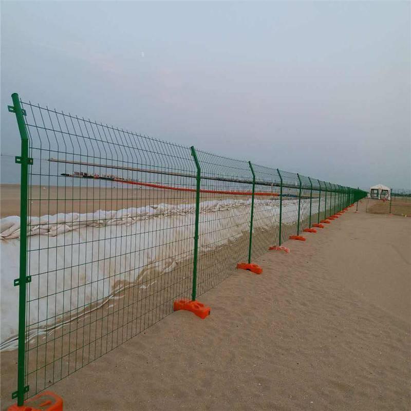 焊接铁丝网 湖北园林圈地围栏网 绿色浸塑工厂隔离栅厂家