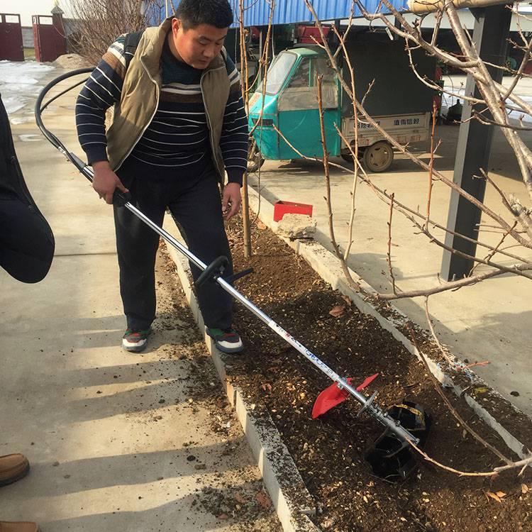 果园用小型除草机款式 小型松土机价格 背负式旋耕松土机