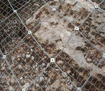土体防护工程 稳固岩石防护网 防落石 防山坡坠石