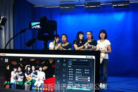 实景、虚拟演播室建设,【虚拟电视台、录课室建设】