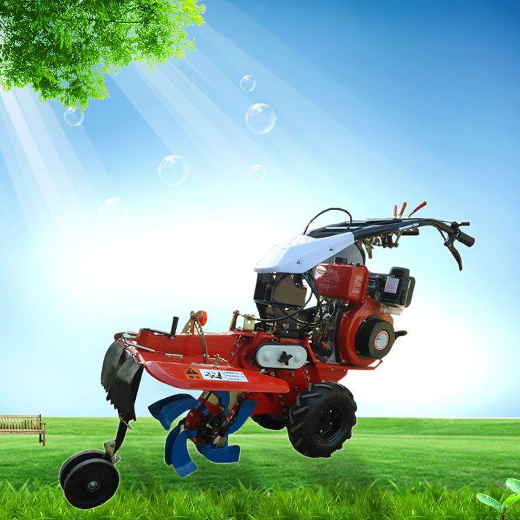 柴油186型开沟培土机 草莓种植起垄旋耕机 佳鑫大棚开沟起垄机批发