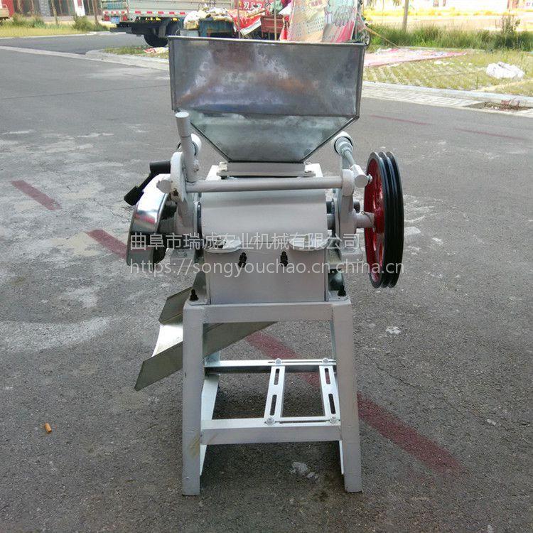 小型杂粮破碎机 优质电动玉米破瓣机价格