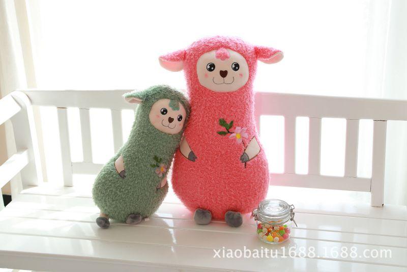 [荐]新款毛绒玩具 优质小绵羊公仔玩偶 创意填充毛绒玩具批发图片
