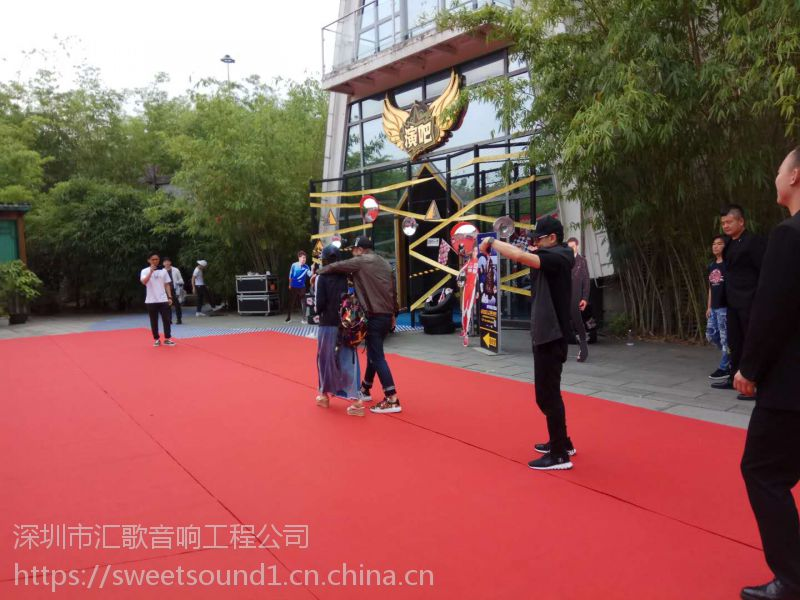 深圳音响 舞台搭建 LED屏 舞台灯光出租