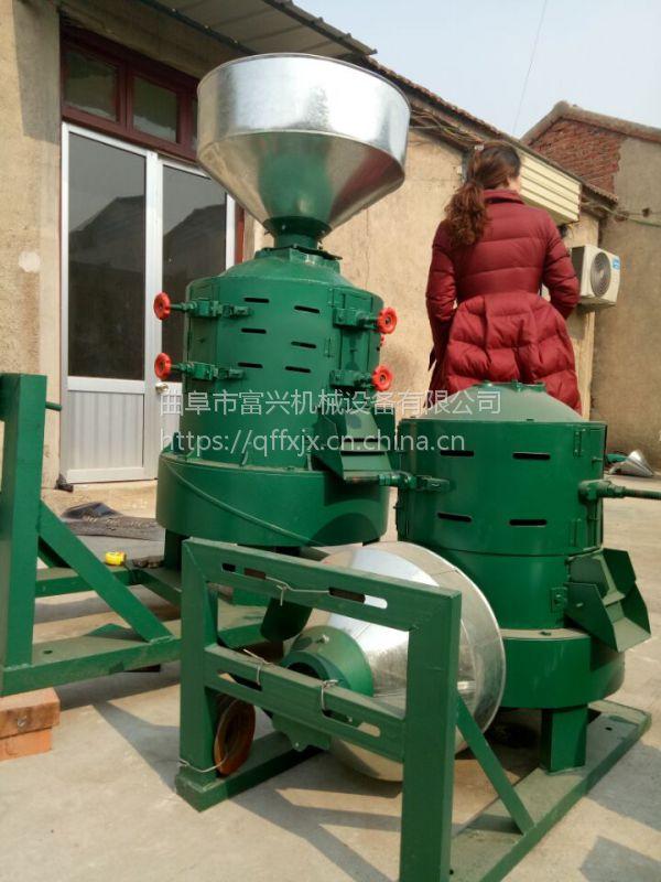 小型杂粮碾米机 去皮干净谷子碾米机 玉米破渣脱皮制糁机报价