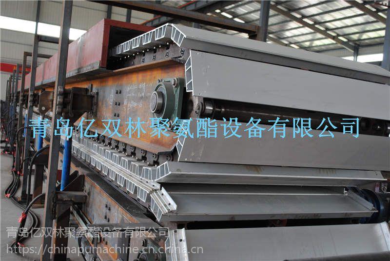 亿双林供应聚氨酯 外墙夹心板材生产线 板材生产线