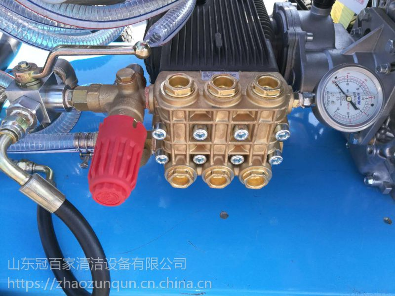 管道疏通机 工业除锈高压清洗机 冷水移动式工业除锈清洗机