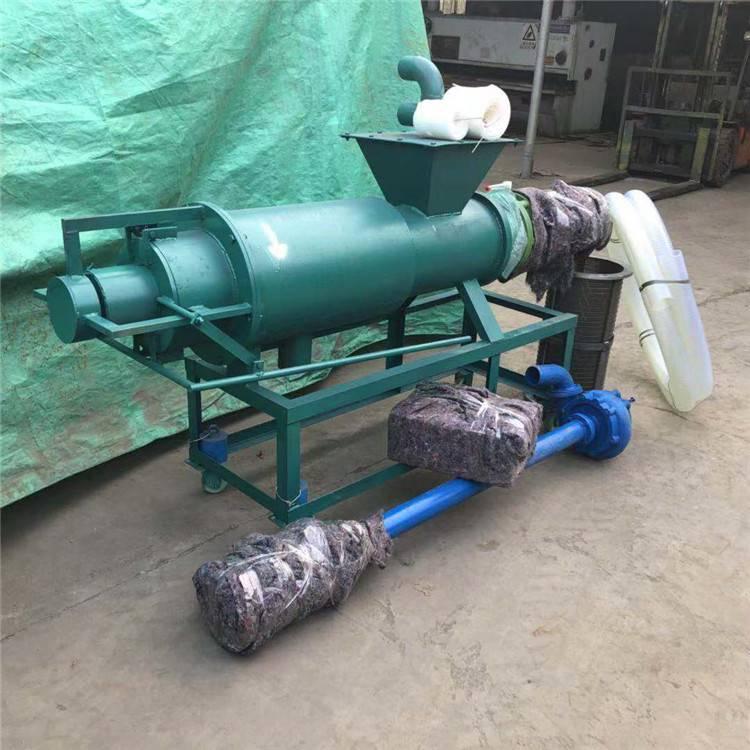 性能稳定养殖粪便脱水设备 润众 鸡粪螺旋挤压脱水机