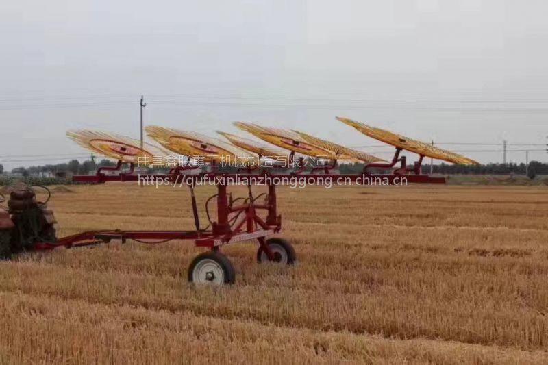河南小麦秸秆搂草机哪里有卖的 鑫联牌弹齿式搂草机专卖商信息