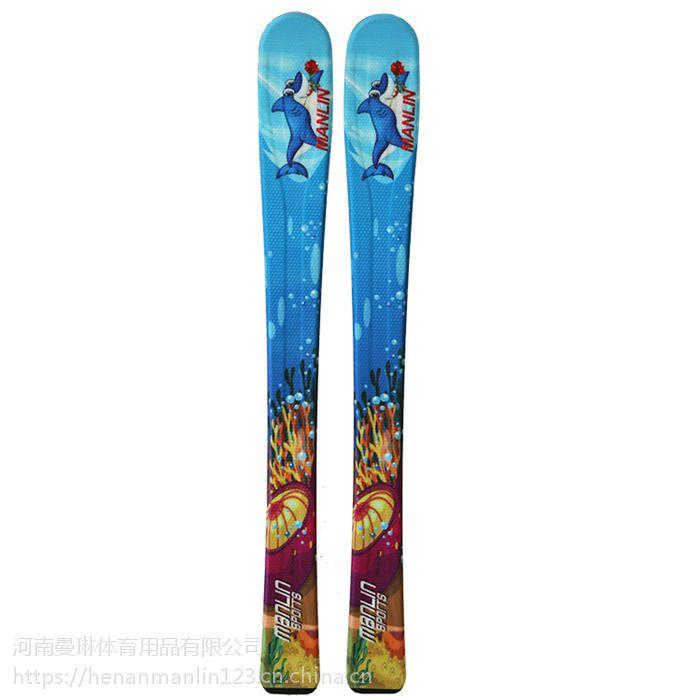 曼琳manlin厂家直销全白杨木芯滑板 不易损坏舒适度高优质滑雪板