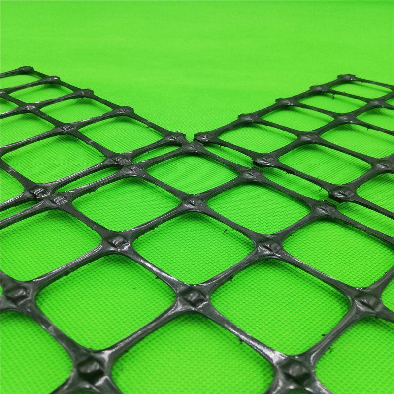 陕西双向塑料格栅生产销售50kn高抗拉塑料土工格栅厂家