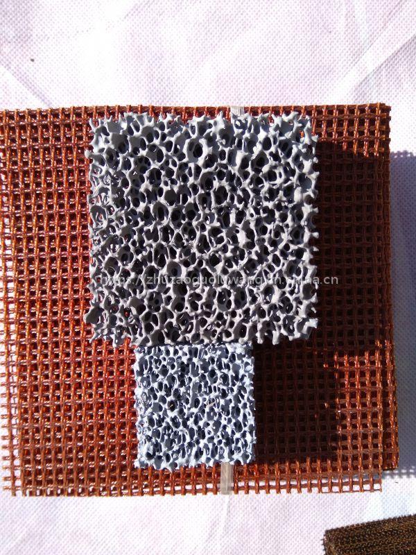 圣泉集团耐高温铸造过滤网陶瓷过滤网
