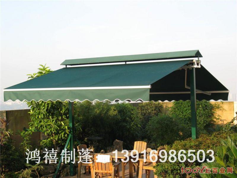 浦东康桥遮阳蓬 上海浦东康桥餐厅雨棚 上海浦东康桥固定伸缩遮阳篷