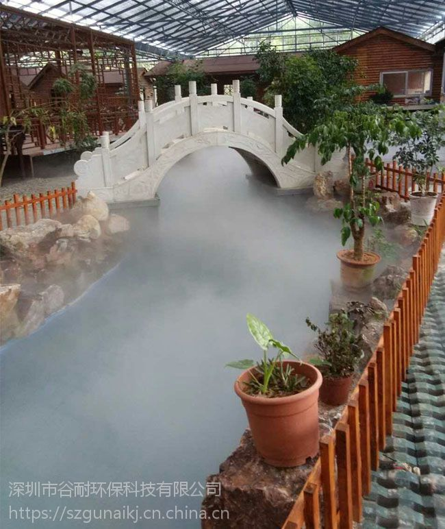 专业社区小区造雾设备喷雾系统厂家