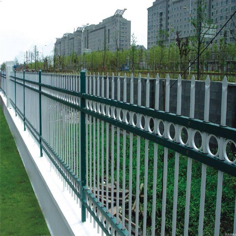 水电站隔离栅栏 外墙隔离栅厂家 厂区锌钢围墙护栏