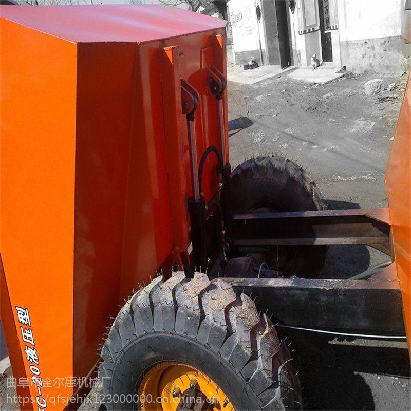 工地配套柴油翻斗车 任何情况工作翻斗车价格 新版工地柴油运输车参数