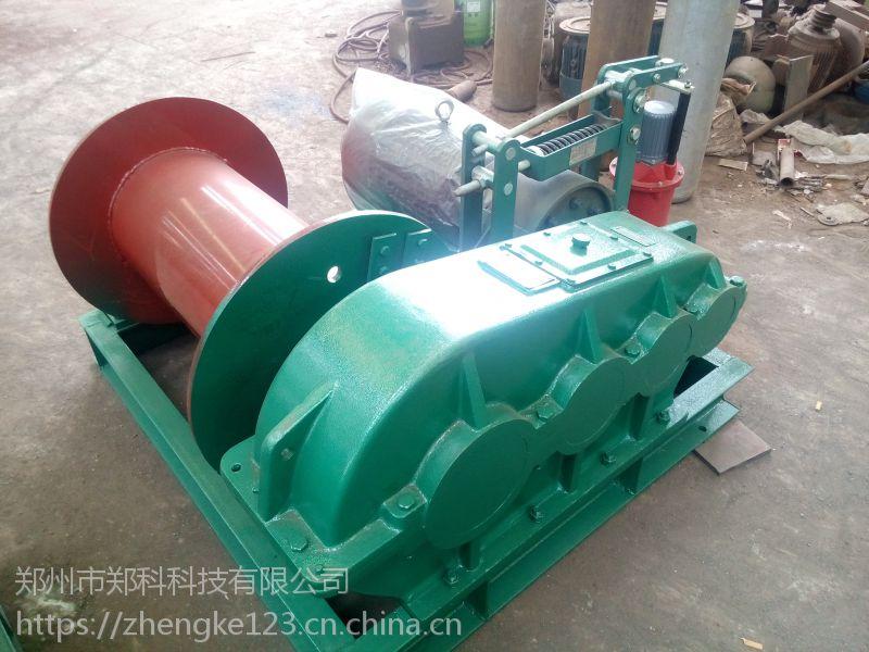 浙江台州郑科三吨加重型电制动卷扬机厂家促销
