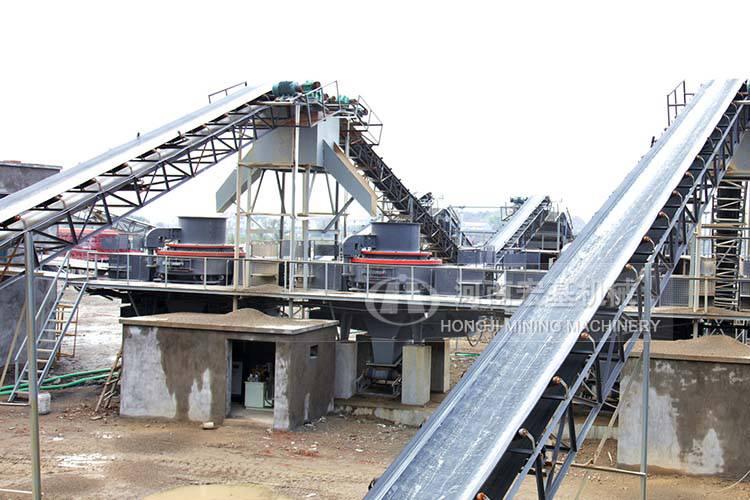 黄石大型矿山采石场生产线通过客户验收