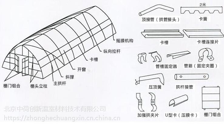 北京 温室大棚结构设计咨询 大棚材料设施齐全欢迎来电咨询