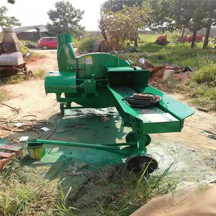 玉米秸秆切草揉丝机 润众 牛羊马养殖揉丝机
