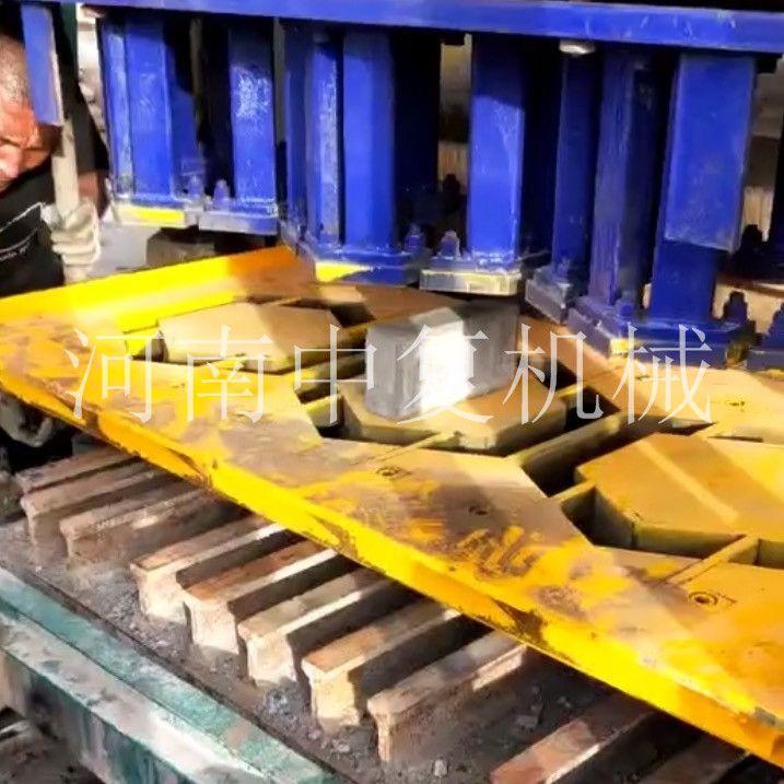 供应山西吕梁3-15全自动液压六棱护坡砖机砖头机械