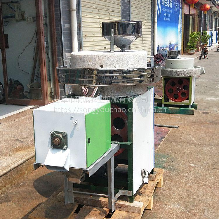 中小型杂粮磨粉机 高硬度玉米面粉机 新款小麦石磨面粉机