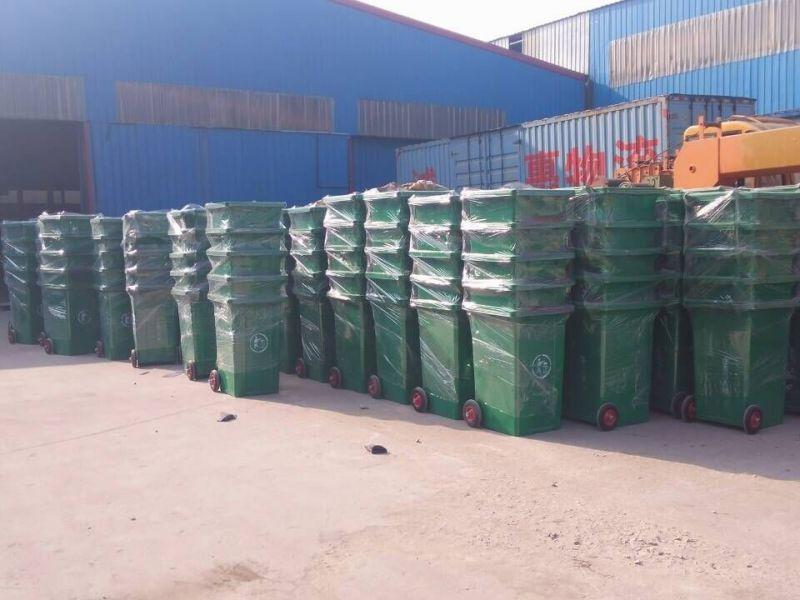 山东创洁环卫垃圾桶装卸视频