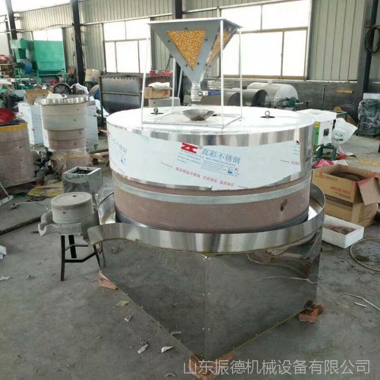 传统工艺豆浆米浆石磨 芝麻酱花生酱石磨 商用大型香油电动石磨机
