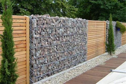 山东滨州镀锌石笼网景观墙石笼网墙石笼网挡土墙坚固耐用