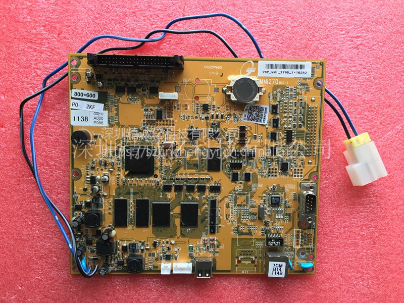 佳明注塑机电脑主板MMI270M82-2 2BP-MMi-270B-1-23079
