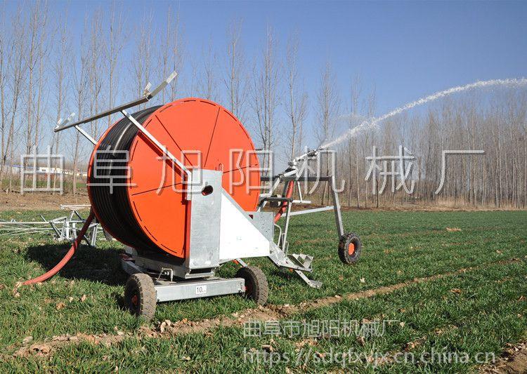 生产直销农田抗旱浇灌机自动卷管浇地机自走式喷灌机