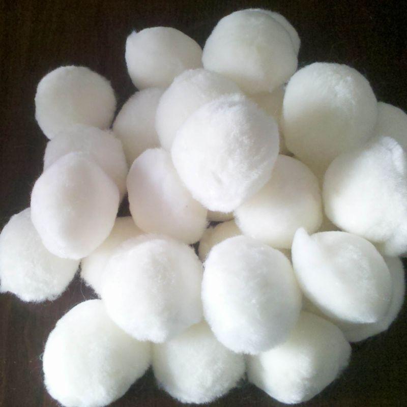 山东水处理纤维球滤料 纯白纤维球滤料厂家直销
