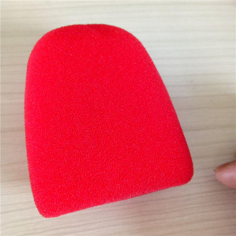 厂家专业直销 麦克风海绵套 防喷罩防尘套 一次性话筒套